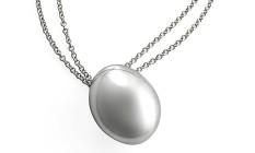 Colar Pedras Roladas, da H.Stern (R$ 1.830): prata ainda é tratada como uma novidade nas oficinas da tradicional joalheria Foto: Divulgação