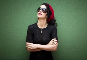A cantora e compositora Marisa Monte Foto: Leo Martins