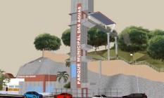 O projeto prevê nova entrada, com elevador para melhorar a acessibilidade: obras estão orçadas em R$ 7,9 milhões Foto: Divulgação / Prefeitura de Niterói