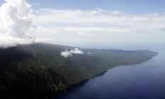 Vanuatu é um arquipélago de 80 ilhas localizado no Anel de Fogo Foto: AP