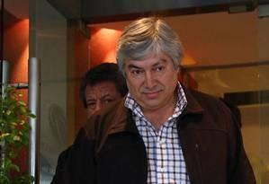 Lázaro Báez, sócio e amigo da família Kirchner Foto: Agência O Globo