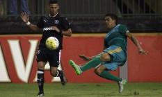 Botafogo e Coruripe empataram em 1 a 1 pela Copa do Brasil Foto: Vitor Silva/Divulgação SSPress/Botafogo