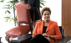 A presidente Dilma Roussef Foto: Givaldo Barbosa / Agência O Globo 28/04/2016