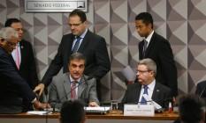 Comissão especial do Senado que analisa o processo de impeachment ouve defesa da presidente Dilma Rousseff Foto: Ailton Freitas / Agência O Globo
