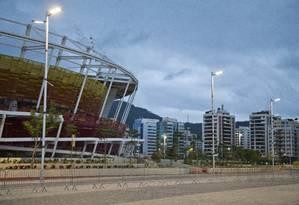 Imóveis próximos ao Parque Olímpico, na Barra, têm os preços mais altos, com diárias que variam entre R$ 1.400 e R$ 2.500 Foto: Guito Moreto / Agência O Globo