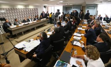 Ccomissão especial do Senado analisa o processo de impeachment de Dilma Foto: Ailton Freitas / Agência O Globo 29/04/2016