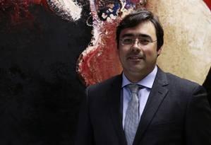 Previdência. Para Manoel Pires, secretário de Política Econômica, é preciso fixar idade mínima Foto: Jorge William / Agência O Globo