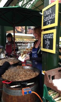 Borough Market, em Londres Foto: Vivian Oswald / Arquivo