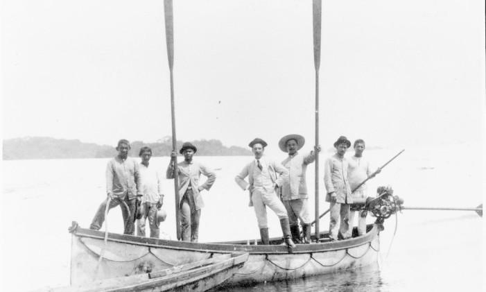 Carlos Chagas (no centro) Foto: Reprodução