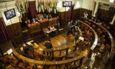 Câmara só começará a analisar o projeto depois que a pauta for destrancada Foto: Hermes de Paula / Agência O Globo