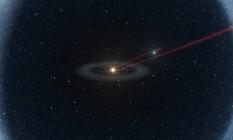 Diagrama mostra o caminho provável do asteroide C/2014 S3 no Sistema Solar interior e exterior ao longo de mais de quatro bilhões de anos, sendo que a maior parte desse tempo teria sido gasto na gelada Nuvem de Oort Foto: ESO/ L. Calçada