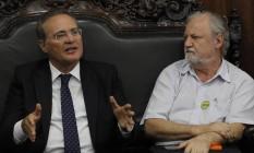 Investigado. O presidente do Senado, Renan Calheiros: só na Lava-Jato, já são 9 ações no STF Foto: Givaldo Barbosa/26-4-2016