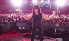 Marky Ramone em show da turnê que celebra os 40 anos do punk rock Foto: Reprodução