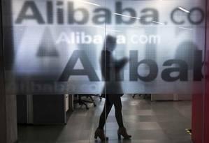 Sede do Alibaba, gigante chinesa de e-commerce, em Hanzhou, China Foto: Chance Chan / Reuters