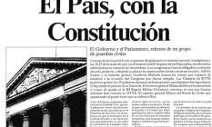 """Marco. Uma página histórica do jornal espanhol """"El País"""" Foto: Reprodução"""