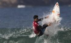 Gabriel Medina, campeão do WCT de surfe em 2014, será um dos primeiros nomes a conduzir a tocha olímpica no Brasil Foto: Leo Correa / AP