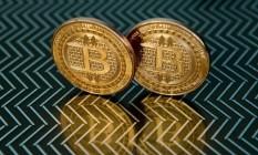 Bitcoin, moeda digital Foto: KAREN BLEIER / AFP
