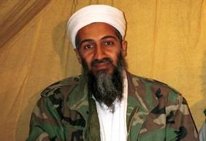 Osama bin Laden foi morto na madrugada de 02 de maio de 2011 em sua mansão no Paquistão Foto: AP / AP