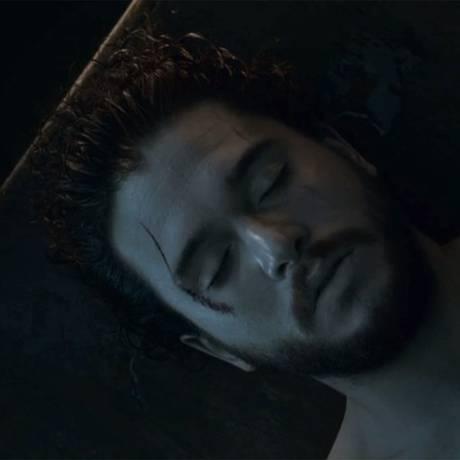 Jon Snow (Kit Harington) em 'Game of thrones' Foto: Reprodução