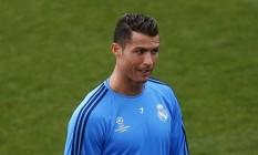 Cristiano Ronaldo pode voltar ao time no decisivo jogo contra o Manchester City Foto: REUTERS/Susana Vera