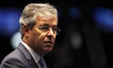 Senador Jorge Viane em sessão deliberativa do Senado Federal Foto: Jorge William (28-04-2016) / Agência O Globo