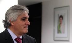 O senador Delcí dio do Amaral (sem partido-MS) Foto: Givaldo Barbosa / Agência O Globo / 20-3-2014