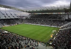 Arena Corinthians Foto: Rafael Moraes / Agência O Globo / Arquivo 01-06-2014