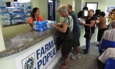 Atendimento na Farmácia Popular em Niterói, no Rio de Janeiro Foto: Bruno Gonzalez / Bruno Gonzalez / EXTRA / 20-9-2013