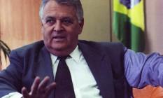 Conselheiro de Itamar. Hargreaves, então ministro da Casa Civil, em 1992 Foto: Carlos Humberto/12-10-1992