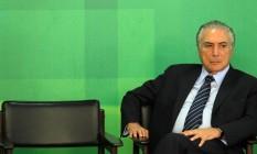 O vice-presidente da República Michel Foto: Givaldo Barbosa (02-03-2016) / Agência O Globo