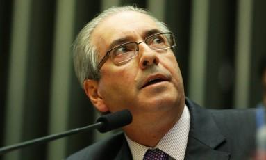 Janot diz que Cunha era 'um dos líderes' de célula criminosa em Furnas Foto: Ailton de Freitas / Agência O Globo 26/04/2016