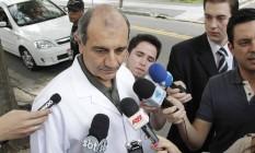 O médico Raul Cutait, indicado para o Ministério da Saúde de eventual governo Temer Foto: Marcos Alves / Agência O Globo / Arquivo 29-10-2011