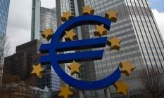 Sede do BCE em Frankfurt Foto: Krisztian Bocsi / Bloomberg