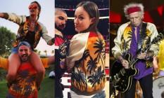 Alê Ambrosio, Olivia Wilde e Keith Richards: a jaqueta que todo mundo quer ter Foto: Reprodução/Instagram/ Guito Moreto/Agencia O Globo