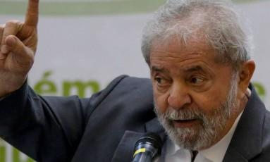 A Procuradoria-Geral da República entregou ao STF pedido para investigar o ex-presidente Lula: Foto: Pedro Kirilos / Agência O Globo - Arquivo 25-04-2016
