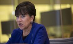 Penny Pritzker, secretária de Comércio dos Estados Unidos Foto: Victor J. Blue / Bloomberg