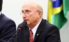 O novo presidente da CCJ, o deputado Osmar Serraglio (PMDB-PR) Foto: Antonio Augusto / Agência Câmara