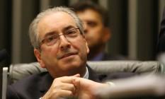 O Presidente da Câmara, Eduardo Cunha (PMDB-RJ) Foto: Ailton Freitas / Agência O Globo