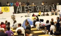 Estudantes ocupam Assembleia Legislativa de São Paulo Foto: Edilson Dantas / Agência O Globo