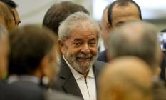 O ex-presidente Luiz Inácio Lula da Silva em seminário em São Paulo Foto: Pedro Kirilos / Agência O Globo / 25-4-2016