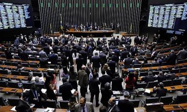 Câmara aprova urgência de projetos que reajustam salário de ministros do STF Foto: Luis Macedo / Agência Câmara