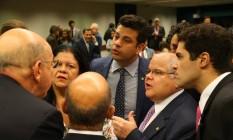 Bancada do PMDB na Câmara deve perder ministérios da Saúde e Ciência e Tecnologia e ganhar Desenvolvimento Social Foto: Ailton de Freitas/14-04-2016 / Agência O Globo