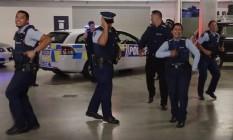 Policiais da Nova Zelândia dançam para recrutar candidatos Foto: Reprodução de vídeo