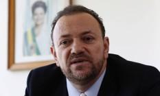 O ministro da Secretaria de Comunicação da Presidência da República, Edinho Silva Foto: Givaldo Barbosa / Agência O Globo / 16-9-2016