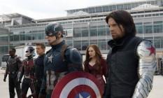 Cena de 'Capitão América: Guerra Civil' Foto: AP