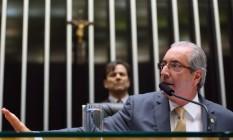 O presidente da Câmara dos Deputados, Eduardo Cunha (PMDB-RJ) Foto: Ailton Freitas / Agência O Globo / 4-5-2016