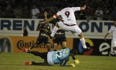 Fred marcou duas vezes no empate entre Fluminense e Ferroviária Foto: Nelson Perez/Divulgação Fluminense