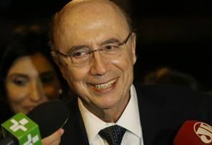 Estatais na mira. Meirelles deve influenciar escolha dos presidentes da Petrobras, BB e Caixa Foto: André Coelho / O Globo