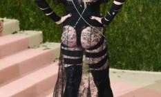 Madonna no Met Gala 2016 Foto: Larry Busacca / AFP
