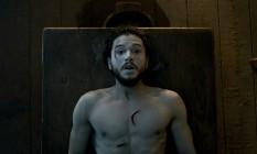"""No seriado """"Game of Thrones"""", o personagem Jon Snow ressuscitou por magia Foto: REPRODUÇÃO"""